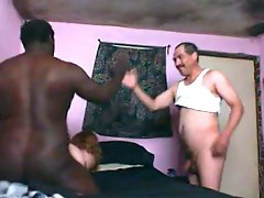 Interracial Homemade Mmf Clip With Me, My Spouse And My Black Friend