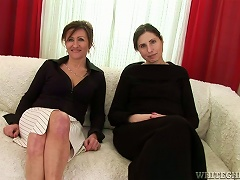 Mature Ladies Are Going To Make Each Other Cum